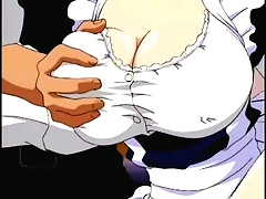 Filthy Hentai Babe is filled and reaches intense orgasm